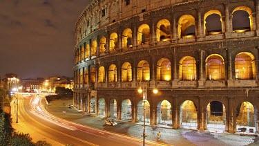 The Coliseum, Rome. Wide angle lens.