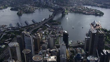 Aerial - Sydney - Sydney Harbour Bridge