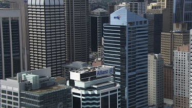 Sydney to Blue Mountains - Aerial - Sydney - View of  Sydney City Buildings