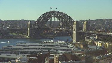 Harbour Bridge Medium Shot.
