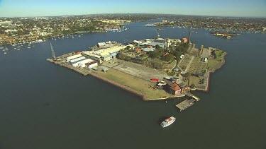 Sydney Harbour. Cockatoo Island