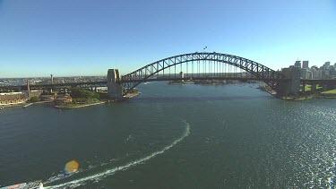 Sydney Harbour Bridge. Wide Shot