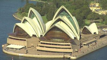 Sydney Opera House. Medium Shot.