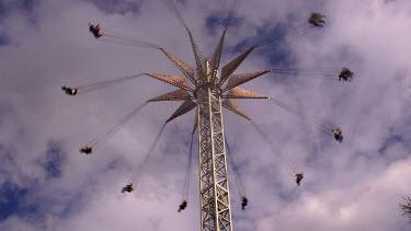 Zamperla Vertical Swing Ride, Flamingo Land, North Yorkshire, England