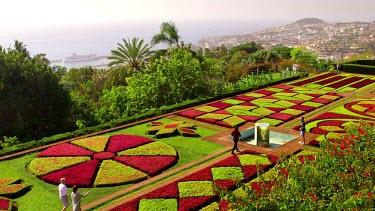 Jardim Botanico Formal Gardens, Funchal, Madeira, Portugal