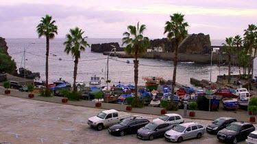 Harbour View On Dull Day, Camara De Lobos, Madeira, Portugal