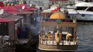 Fast Food Fish Seller, Eminonu, Istanbul, Turkey