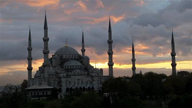 Blue Mosque, Sultanahmet Camii, Sultanahmet, Istanbul, Turkey