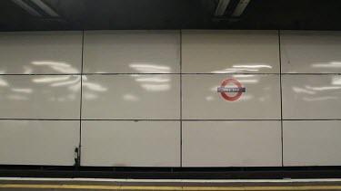 Mile End Underground Tube Station, London, England