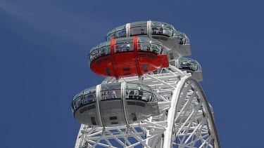 Edf Energy London Eye Pods, South Bank, London, England