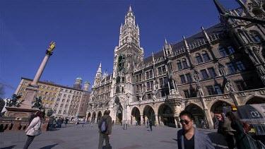 New City Hall, Neues Rathaus, Marienplatz, Munich, Germany