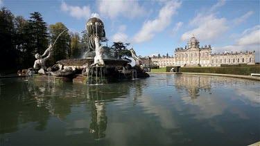 Atlas Fountain & Castle Howard, Malton, North Yorkshire, England
