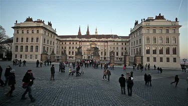Castle Matthias Gate Entrance, Prague & Czech Republic