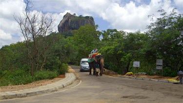 Elephant Ride & Lion Rock, Sigiriya, Sri Lanka