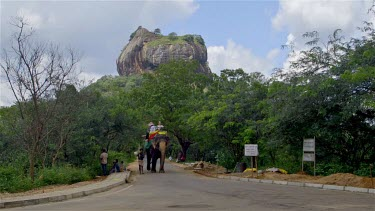 Elephant Ride & Lion Rock, Sigiriya, Sri Lanka