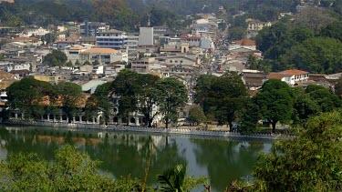 Kandy City & Lake, Kandy, Sri Lanka